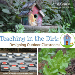 This e-course is for educators who want to clarify their vision to teach outdoors and create an Outdoor Classroom on a shoestring budget. (1)