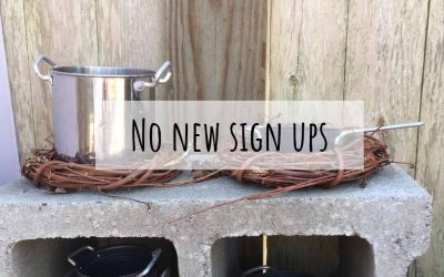 Archived 2017 More than Mud Pies: Making a Mud Kitchen
